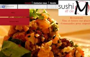 Restaurant Sushi M & Cie - Capitale-Nationale, Saint-Raymond