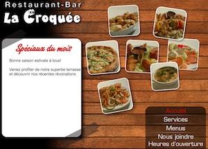 Restaurant La Croquée - Capitale-Nationale, Saint-Raymond