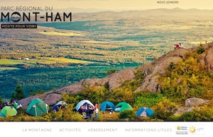 Parc Régional du Parc Mont-Ham - Estrie / Canton de l'est, Ham-Sud