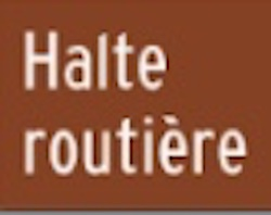 Halte routière de Sainte-Anne-du-Sault - -Centre-du-Québec-, Daveluyville