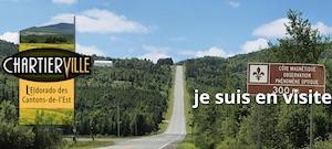 Côte magnétique - Estrie / Canton de l'est, Chartierville