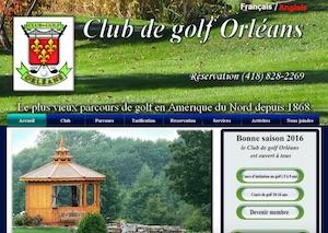 Club de Golf Orléans - Capitale-Nationale, Sainte-Pétronille-de-l'Île-d'Orléans
