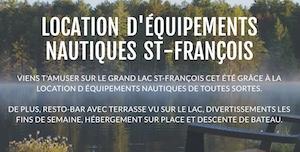 Location Équipements Nautiques - Estrie / Canton de l'est, Saint-Romain (M)