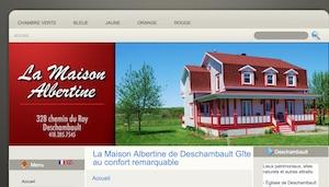 La Maison Albertine - Capitale-Nationale, Deschambault-Grondines