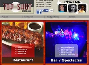 Resto Bar Top Shot - Laurentides, Lachute