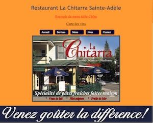 Restaurant La Chitarra - Laurentides, Sainte-Adèle