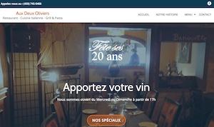 Restaurant Aux Deux Olivier - Laurentides, Sainte-Adèle