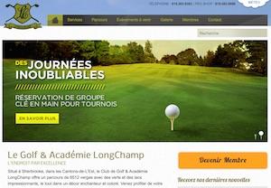 Club de Golf LongChamp - Estrie / Canton de l'est, Municipalité Saint-Denis de Brompton