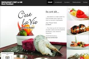 Restaurant C'Est La Vie - Laurentides, Mont-Tremblant