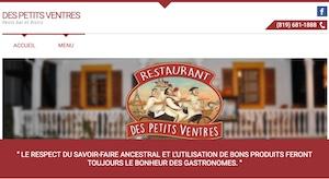 Restaurant des petits Ventres - Laurentides, Mont-Tremblant