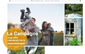 Chalet La Campagne - Chaudière-Appalaches, Saint-Vallier (Bellechasse)