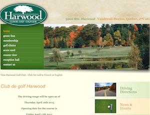 Club de Golf Harwood - Montérégie, Hudson