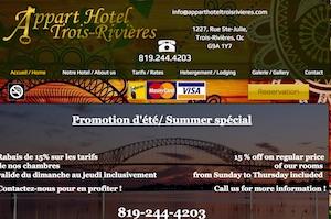 Appart Hôtel Trois Rivières - Mauricie, Trois-Rivières