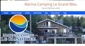 Marina Camping le Grand Bleu - Chaudière-Appalaches, Saint-Joseph-de-Coleraine (Région de Thetford)