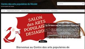 Centre des arts populaires de Nicolet - -Centre-du-Québec-, Nicolet