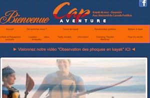 Cap Aventure Kayak de mer Gaspésie - Gaspésie, Gaspé (Cap-aux-Os)