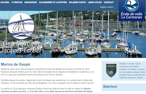 Club nautique Jacques-Cartier (Marina) - Gaspésie, Gaspé
