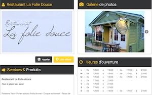 Restaurant La Folie Douce - Îles-de-la-Madeleine, L'Étang du Nord