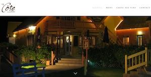 Restaurant Café la cote - Îles-de-la-Madeleine, L'Étang du Nord