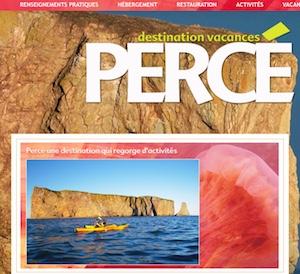 Information touristique Percé - Gaspésie, Percé