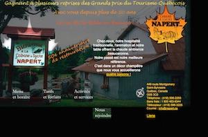 Cabane à sucre Napert (Érablière) - Chaudière-Appalaches, Saint-Sylvestre (Lotbinière)