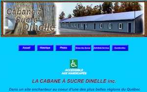 Cabane à sucre Dinelle (Érablière) - Montérégie, Saint-Rémi de Napierville