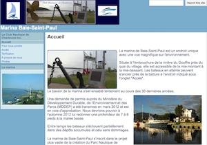 Marina de Baie-Saint-Paul (Club nautique Charlevoix Inc.) - Charlevoix, Baie-Saint-Paul