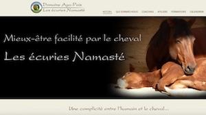 Les Écuries Namasté - Domaine Aga-PaixLes écuries Namasté - Chaudière-Appalaches, Issoudun (Lotbinière)