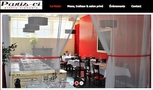 Restaurant Paris-Ci, Bistro Français - Montérégie, Mont-Saint-Hilaire