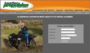 Location Propulsion (Goulet Moto-Sport) - Laurentides, Saint-Jérôme