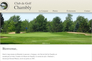 Club de Golf Chambly - Montérégie, Carignan