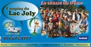 Camping du Lac Joly - Saguenay-Lac-Saint-Jean, Saint-Honoré (Lac-St-Jean)