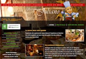 Restaurant Juliano - Laurentides, Sainte-Adèle