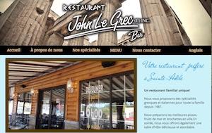 Restaurant John Le Grec - Laurentides, Sainte-Adèle