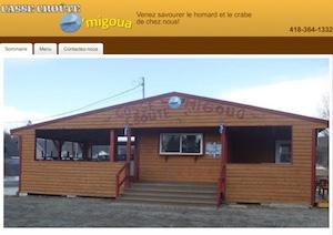 Restaurant Casse-Croûte O'Migoua - Gaspésie, Carleton-sur-Mer (Saint-Omer)