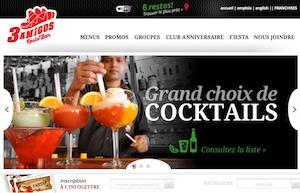 Restaurant 3 Amigos Resto Bar (FAUBOURG BOISBRIAND) - Laurentides, Boisbriand