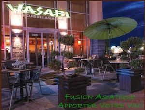 Restaurant Wasabi FAUBOURG BOISBRIAND - Laurentides, Boisbriand