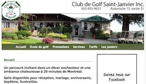 Club de Golf St-Janvier - Laurentides, Mirabel (Saint-Janvier)
