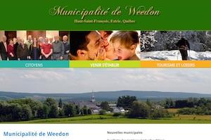 Municipalité de Weedon - Estrie / Canton de l'est, Weedon