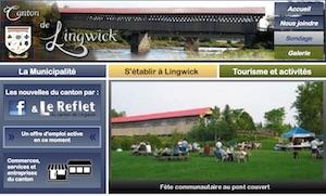Municipalité Canton de Lingwick - Estrie / Canton de l'est, Canton de Lingwick