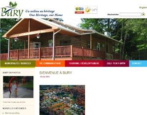 Municipalité de Bury - Estrie / Canton de l'est, Bury