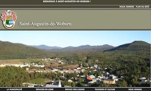 Municipalité de Woburn - Estrie / Canton de l'est, Saint-Augustin-de-Woburn (M)