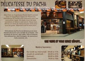 Restaurant Délicatesse du Pacha (Le Centre Charlevoix) - Charlevoix, La  Malbaie