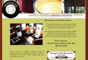 Restaurant La Belle Excuse - Lanaudière, Joliette