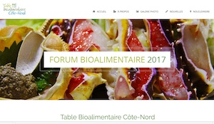 Table bioalimentaire Côte-Nord - Côte-Nord / Duplessis, Sept-Îles