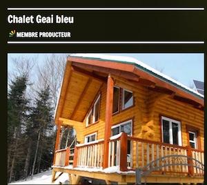 Chalet Geai Bleu - Capitale-Nationale, Saint-Raymond