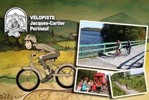 Vélopiste Jacques-Cartier/Portneuf - Capitale-Nationale, Rivière-à-Pierre
