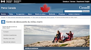 Centre de découverte du milieu marin - Côte-Nord / Manicouagan, Les Escoumins