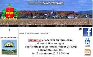 Municipalité de Saint-Thuribe - Capitale-Nationale, Saint-Thuribe