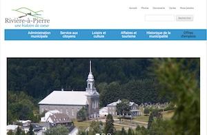 Centre d'interprétation du granite - Capitale-Nationale, Rivière-à-Pierre